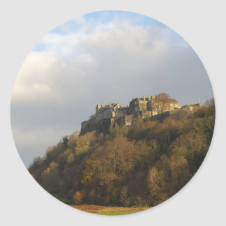 Stirling Castle Round Sticker