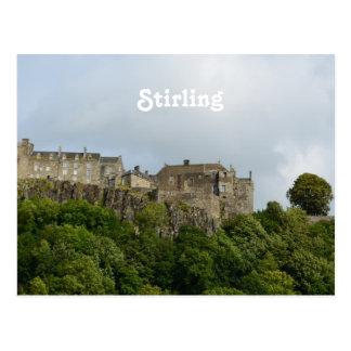 Stirling Castle Scotland Postcard