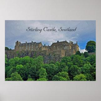 Stirling Castle, Scotland Poster