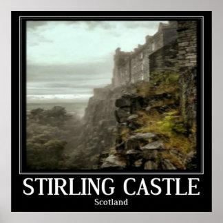 Stirling Castle Scotland Poster Art