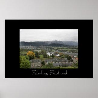 Stirling, Scotland Poster