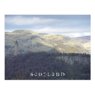 Stirling - The National Wallace Monument Postcard