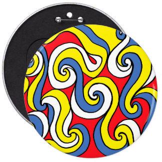 Stirring Endorsed Resounding Vital 6 Cm Round Badge