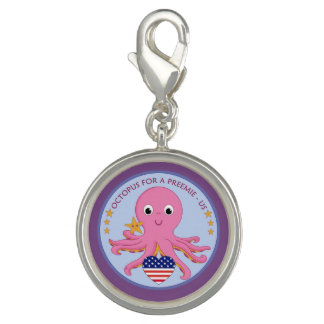 Stitch Marker or Charm Octopus For A Preemie US