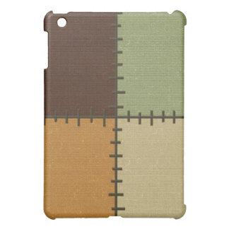 Stitch Patch Pattern Hard Shell iPad Case