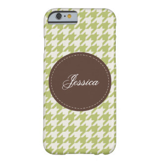 Stitched Houndstooth Barely There iPhone 6 Case