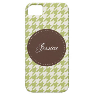 Stitched Houndstooth iPhone 5 Case