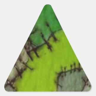 stitched triangle sticker