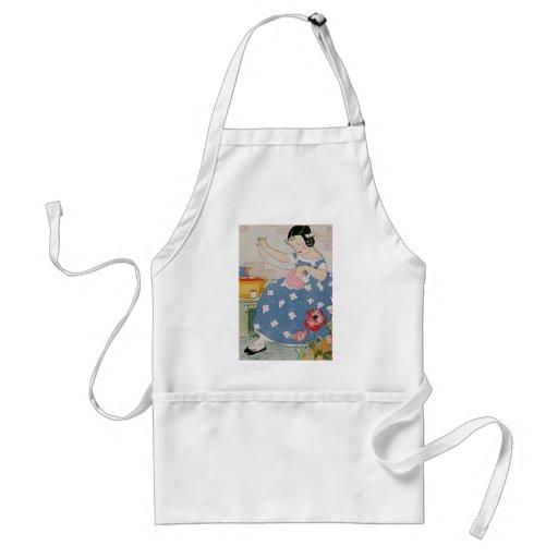Stitching Girl Apron