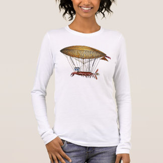 Stitchpunk Crab Long Sleeve T-Shirt