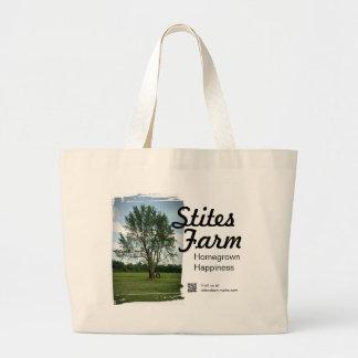 Stites Farm Reusable Shopping Tote Jumbo Tote Bag