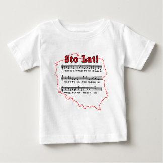 Sto Lat! Song Polish Map Baby T-Shirt