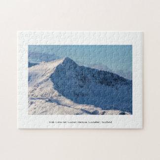 Stob Coire nan Lochan, Glencoe, Lochaber, Scotland Jigsaw Puzzle