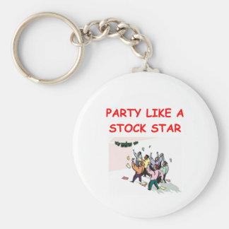 stock broker gifts t-shirts key ring