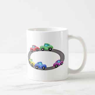 Stock Car Race Track Mugs