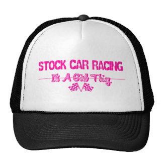 Stock Car Racing Mesh Hat