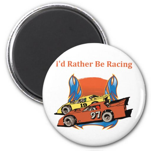 Stock Car Racing Magnets