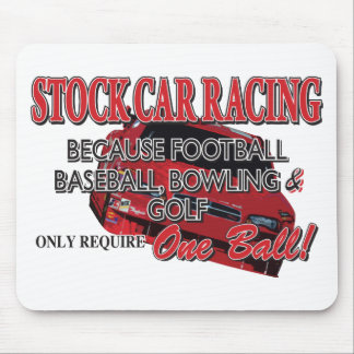 Stock Car Racing Mouse Pad