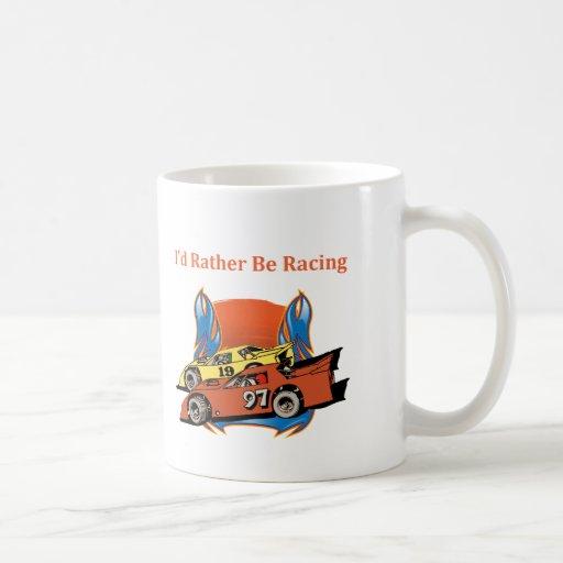 Stock Car Racing Mug