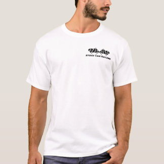 Stock Car Racing T-Shirt sml logo