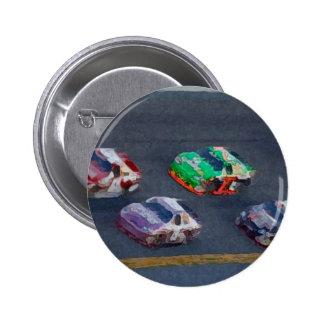 Stock Cars 4 6 Cm Round Badge