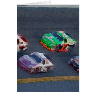 Stock Cars 4 Card