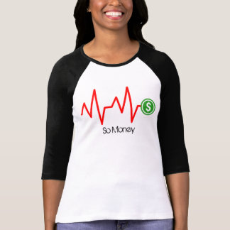 Stock Chart Dollar Sign T-Shirt