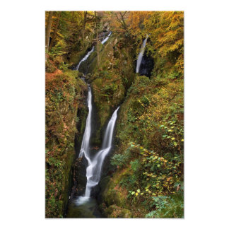 Stock Ghyll Force, The Lake District Photo Print