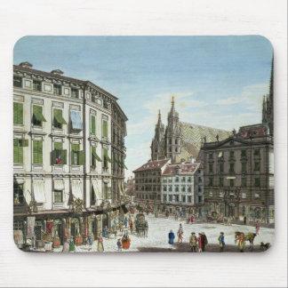 Stock-im-Eisen-Platz with St Stephan s Mousepad