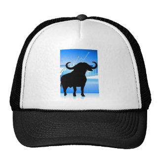 Stock Market Bull Cap