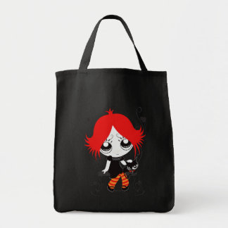"Stock market ""Halley "" Grocery Tote Bag"