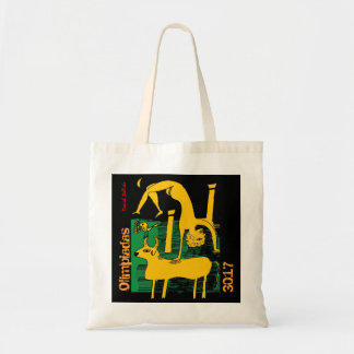 stock market the Olympic Games Greece Budget Tote Bag