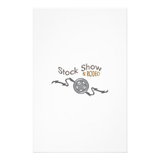 STOCK SHOW AND RODEO STATIONERY DESIGN