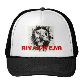 stock-vector-RIVALWEAR SKULL. Cap