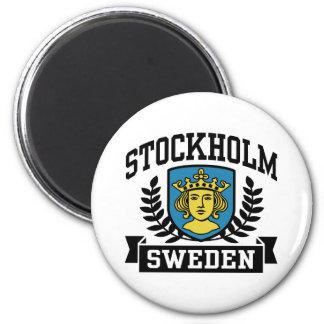 Stockholm 6 Cm Round Magnet