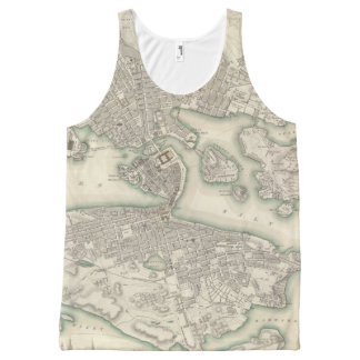 Stockholm All-Over Print Tank Top