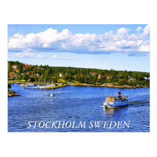 Stockholm Bay Post Card