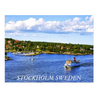 Stockholm Bay Post Card