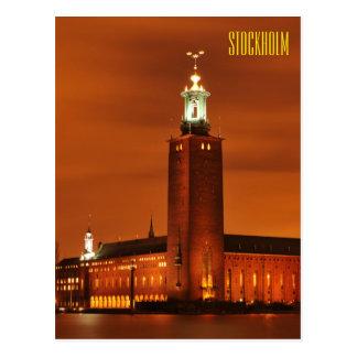 Stockholm City Hall, Sweden Postcard