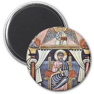 Stockholm Codex Aureus Codex Aureus Therefore Cant 6 Cm Round Magnet