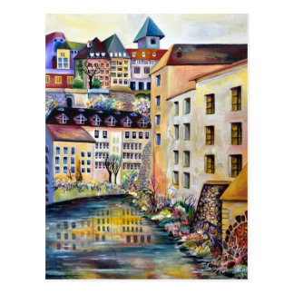 Stockholm Gamla Stan - Old Town Postcard