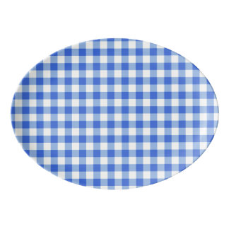 Stockholm Gingham serving platter