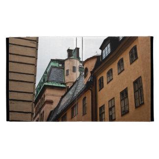 Stockholm houses iPad folio case