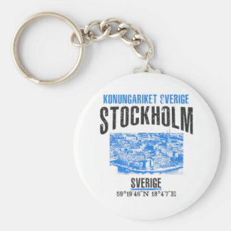 Stockholm Key Ring