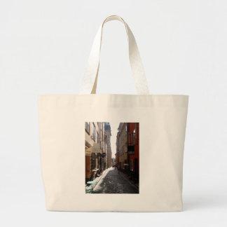 Stockholm street tote bags