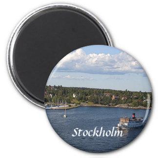 Stockholm Sweden Bay Magnet