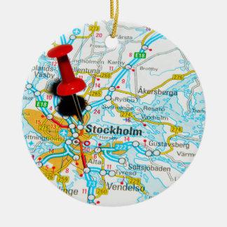 Stockholm, Sweden Christmas Ornament