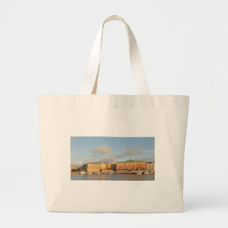 Stockholm, Sweden Large Tote Bag