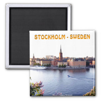 Stockholm - Sweden (Mojisola A Gbadamosi) Magnet