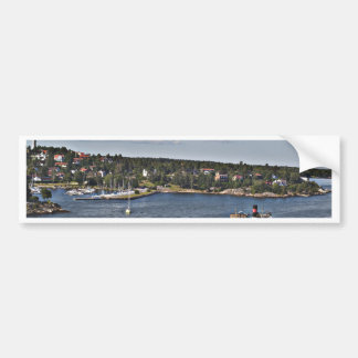Stockholm Sweden Port Bumper Sticker